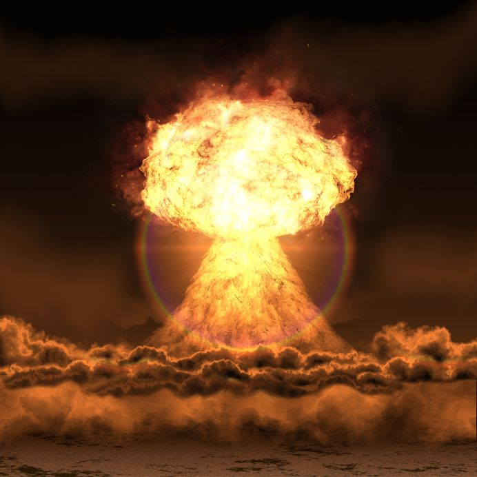 Nuclear Explosion - EMP Attack
