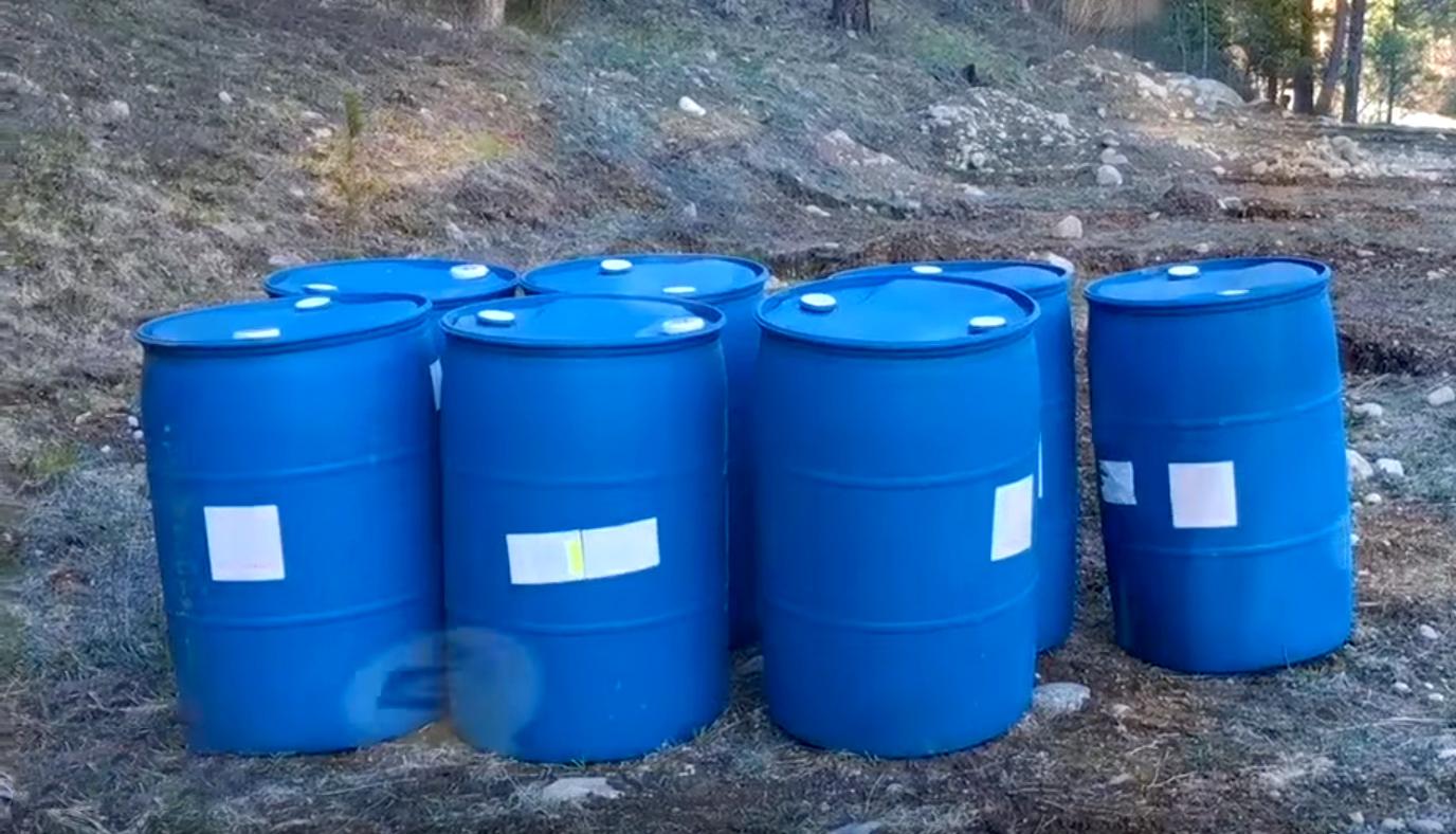 Off Grid Water Storage